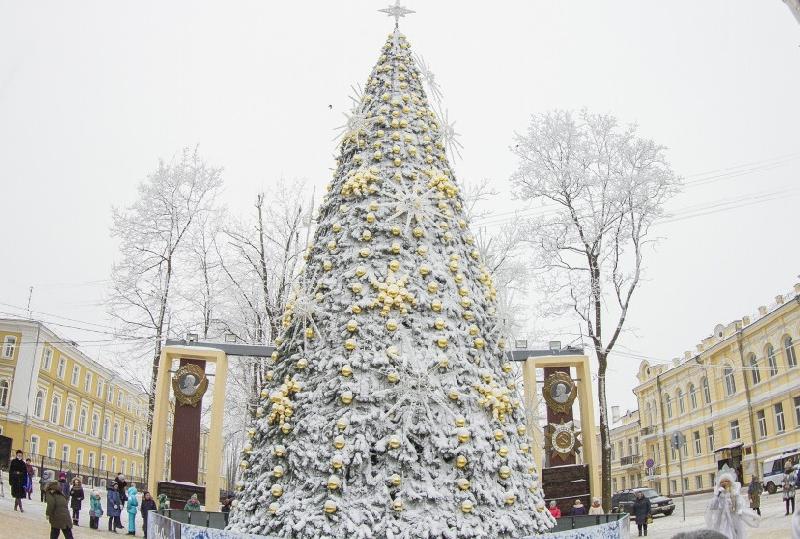 В Смоленске прошло открытие главной городской елки