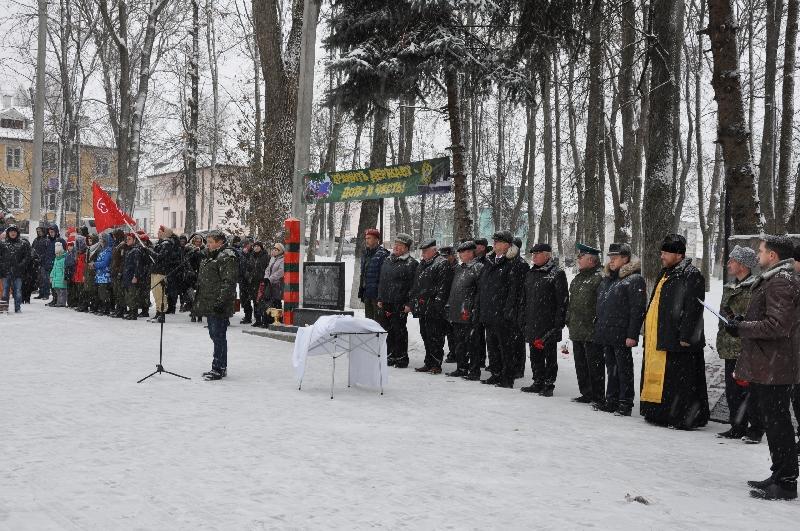 В Смоленской области установлен новый памятник воинам-пограничникам