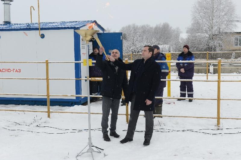 В Смоленской области газифицирован 600-й населенный пункт