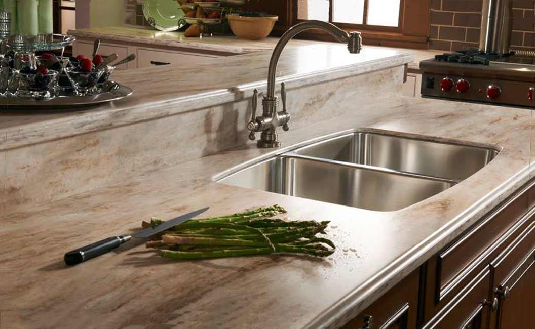 Столешницы из искусственного камня на кухню