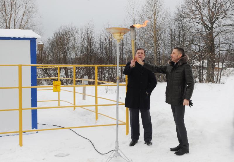 В Смоленской области газифицировали еще один населенный пункт
