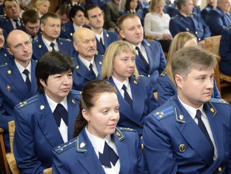 Смоленских прокуроров поздравили с профессиональным праздником