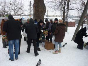 «Подари праздник». В Смоленске собирают помощь для бездомных