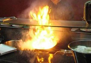 В Смоленской области произошел пожар в кафе