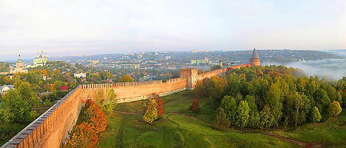 Смоленская область вошла в ТОП самых популярных у иностранцев регионов