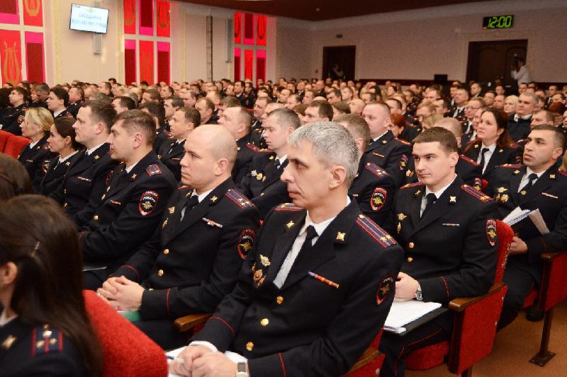 Смоленские полицейские подвели итоги работы за год