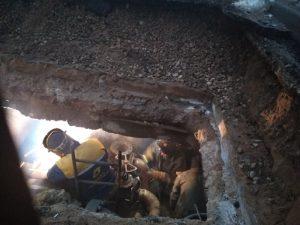 Оперативная информация о ремонте теплосети в Смоленске на улице Козлова
