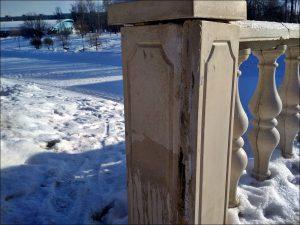 В Смоленске разрушается мост в парке 1100-летия
