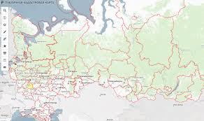Публичная кадастровая карта для бесплатного просмотра участков по всей России