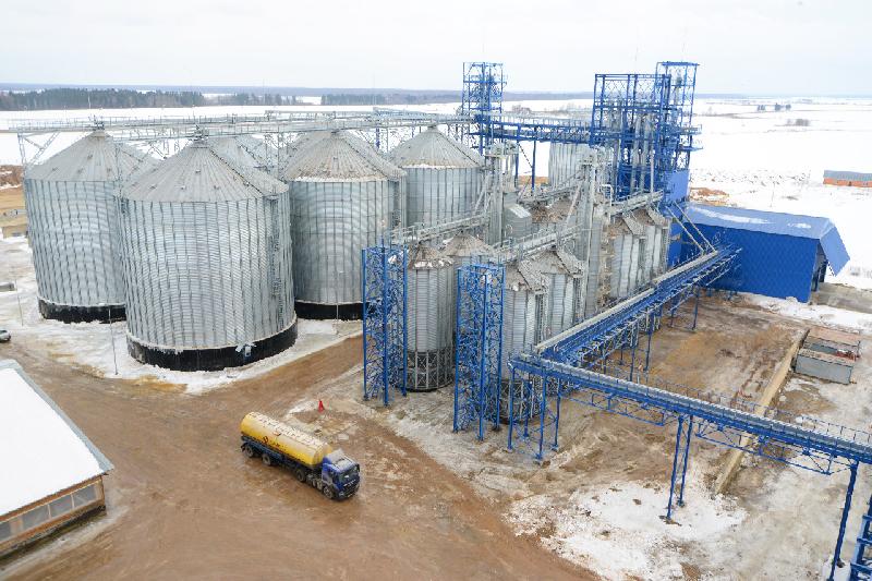 В Смоленской области построили комбикормовый завод