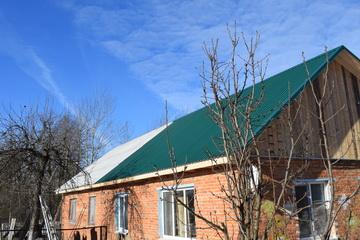 В Смоленской области отремонтировали крышу дома, рухнувшую под тяжестью снега