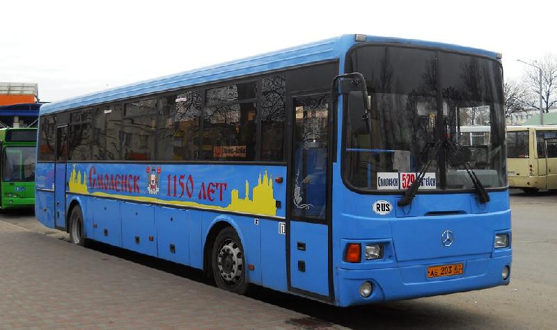 Возобновляются автобусные рейсы из Витебска в Смоленск