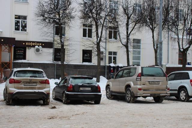 Смоляне устроили фотоохоту на нарушителей в центре города
