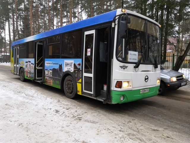 В Смоленске сотрудники ГИБДД проверяют автобусы