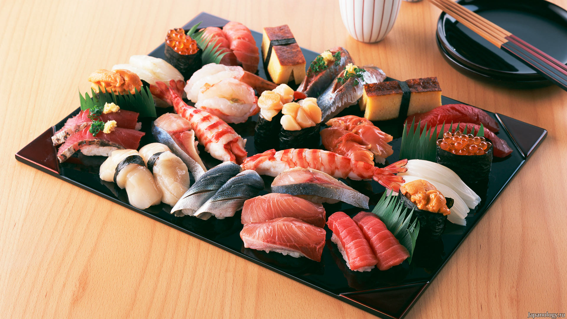 Роллы по японски