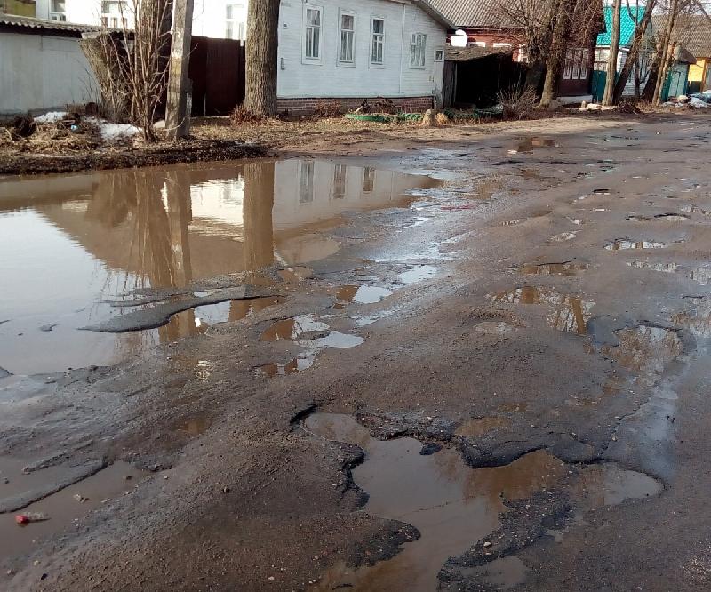В райцентре Смоленской области отремонтируют основные улицы