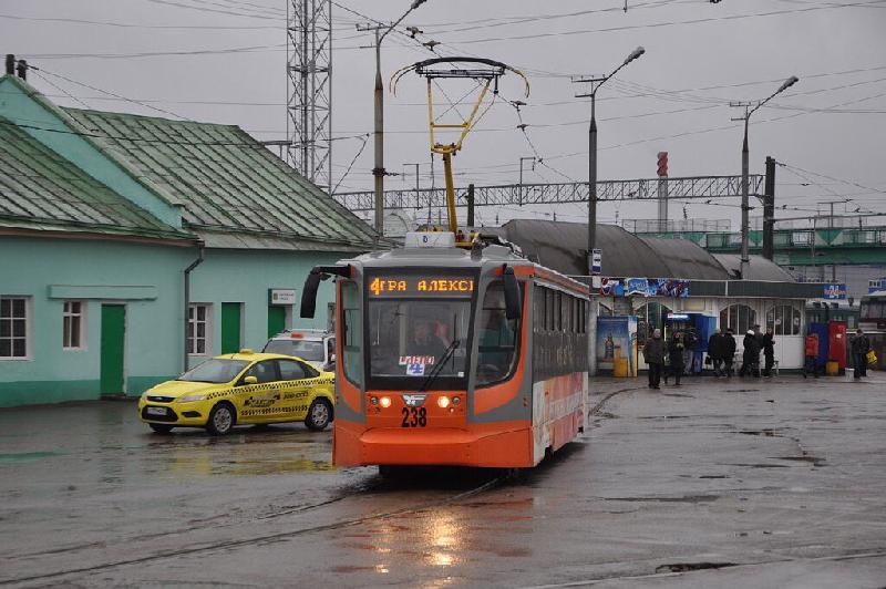 В Смоленске изменили маршрут 4-го трамвая