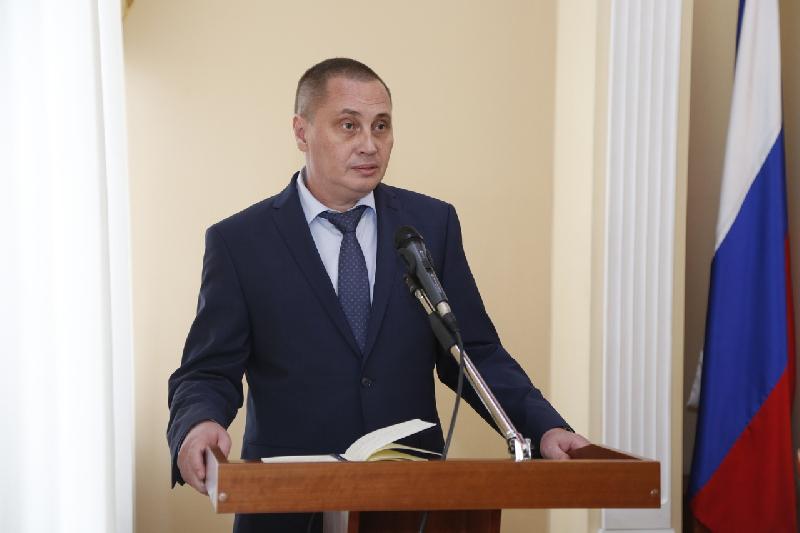 Андрей Борисов вступил в должность главы Смоленска