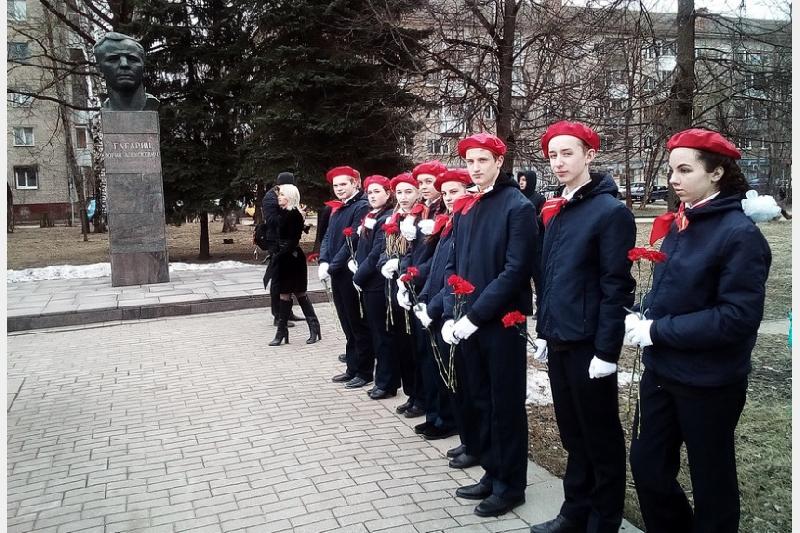 В Смоленске почтили память Юрия Алексеевича Гагарина