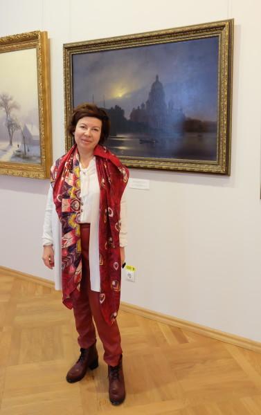 Знаменитой оперной певице показали картину ее прапрадеда в Смоленске