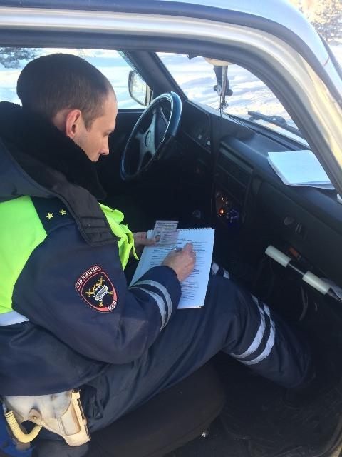 В Смоленской области за пять дней на трассах наказали почти 400 любителей погонять