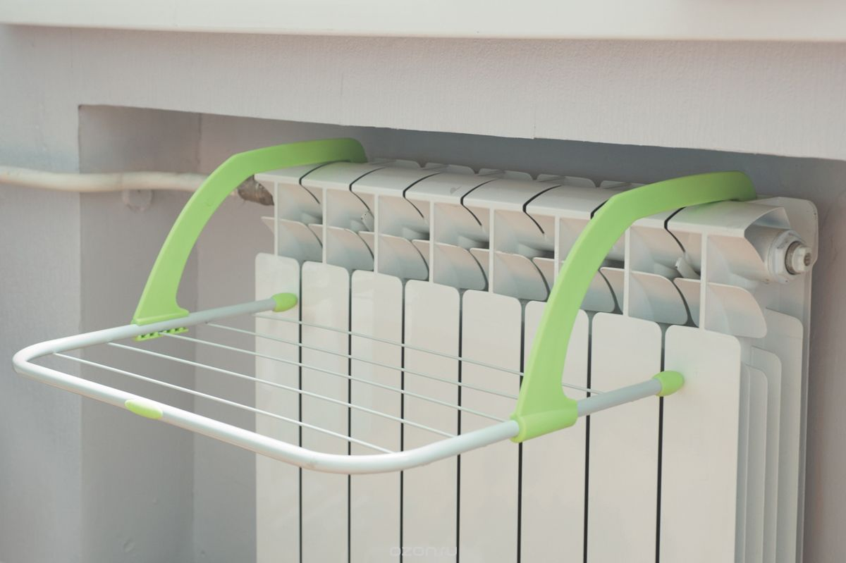 Как сушить белье, если нет балкона