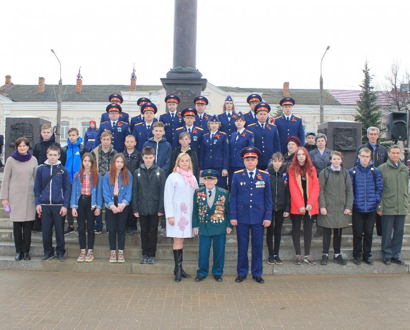Вязьма приняла всероссийскую патриотическую эстафету «Дорога Памяти»