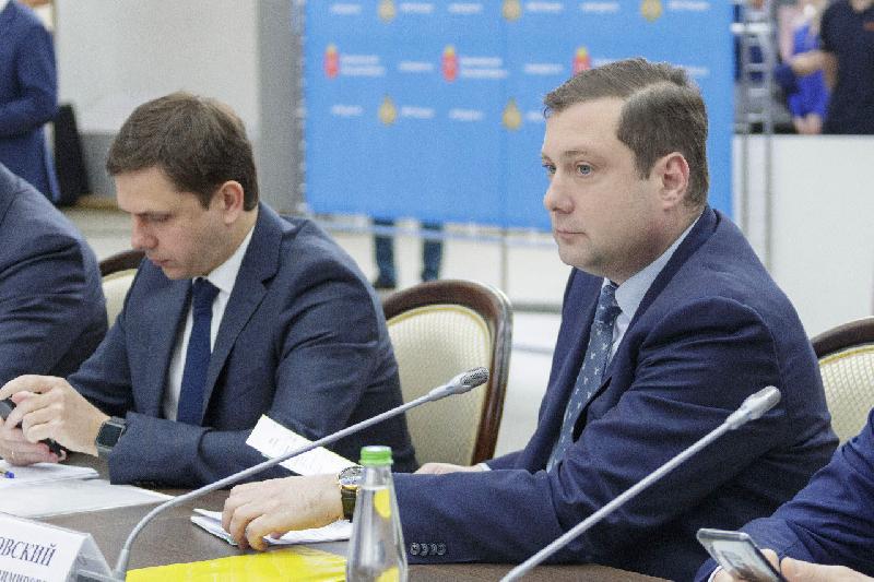 Глава Смоленской области принял участие в заседании совета по предотвращению ЧС