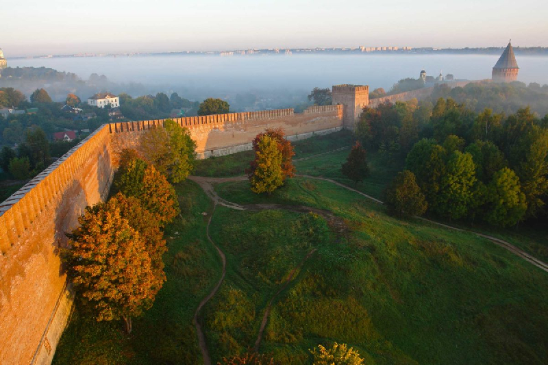 Стали известны сроки реставрации Смоленской крепости. Подробности рабочей встречи губернатора