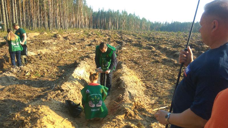 Губернатор Смоленской области принял участие в экологической акции