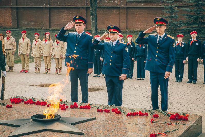 Ельня и Смоленск приняли всероссийскую патриотическую эстафету «Дорога Памяти»