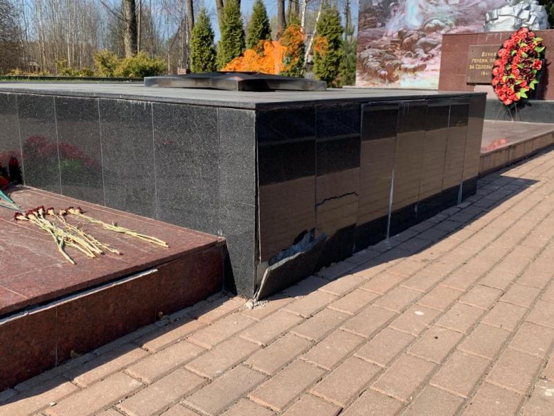 ОНФ призвал привести в порядок вечный огонь в Смоленской области