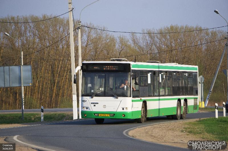 По Смоленску начали курсировать первые «москвичи»