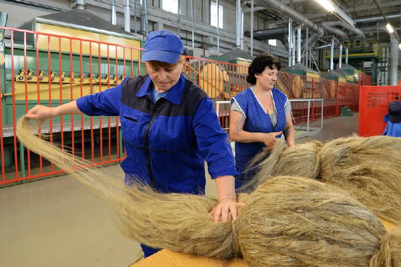 Глава Смоленской области обсудил строительство льнозавода в Сафоново