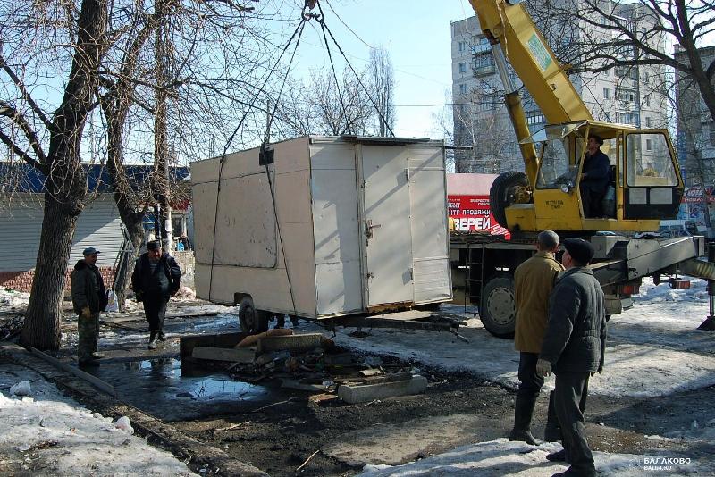 Администрация Смоленска собирается убрать киоск на проспекте Строителей