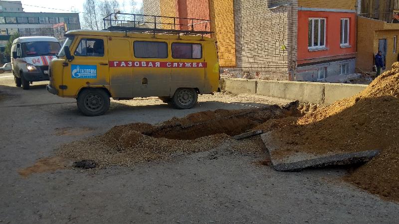 В Смоленске на улице Кловской завершены работы на газопроводе