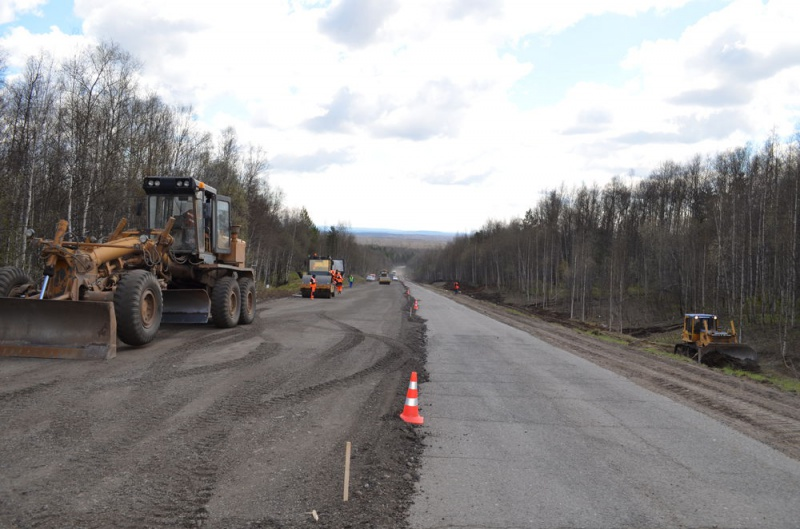 В 2019 году в Смоленской области отремонтируют более 60 км федеральных трасс