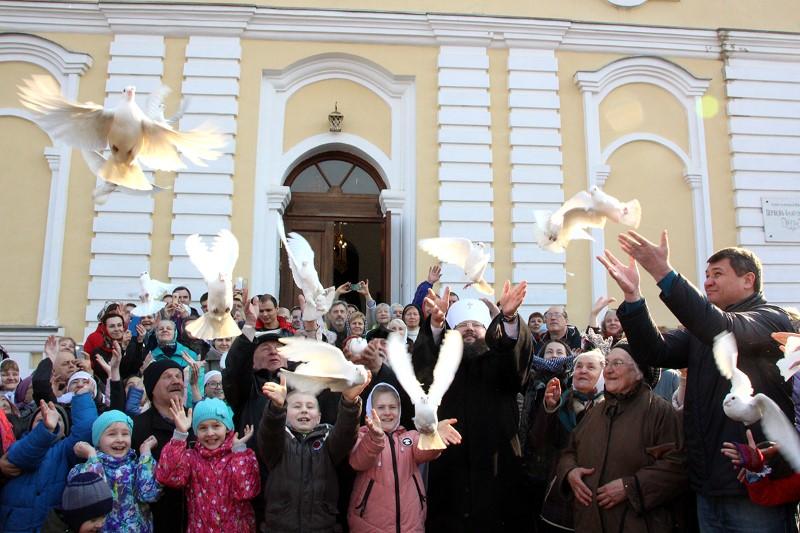 В Смоленске возрожден храм Благовещения Пресвятой Богородицы
