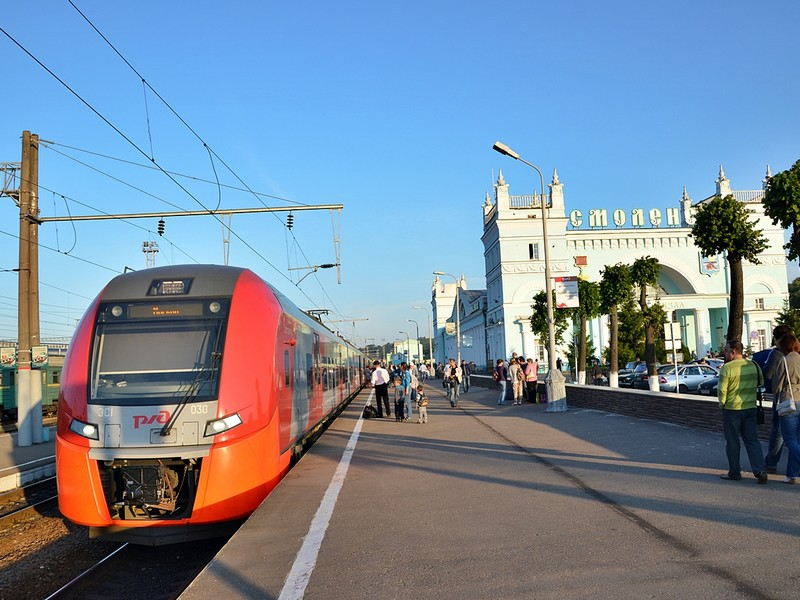 Расписание «Ласточки» Москва – Смоленск изменится