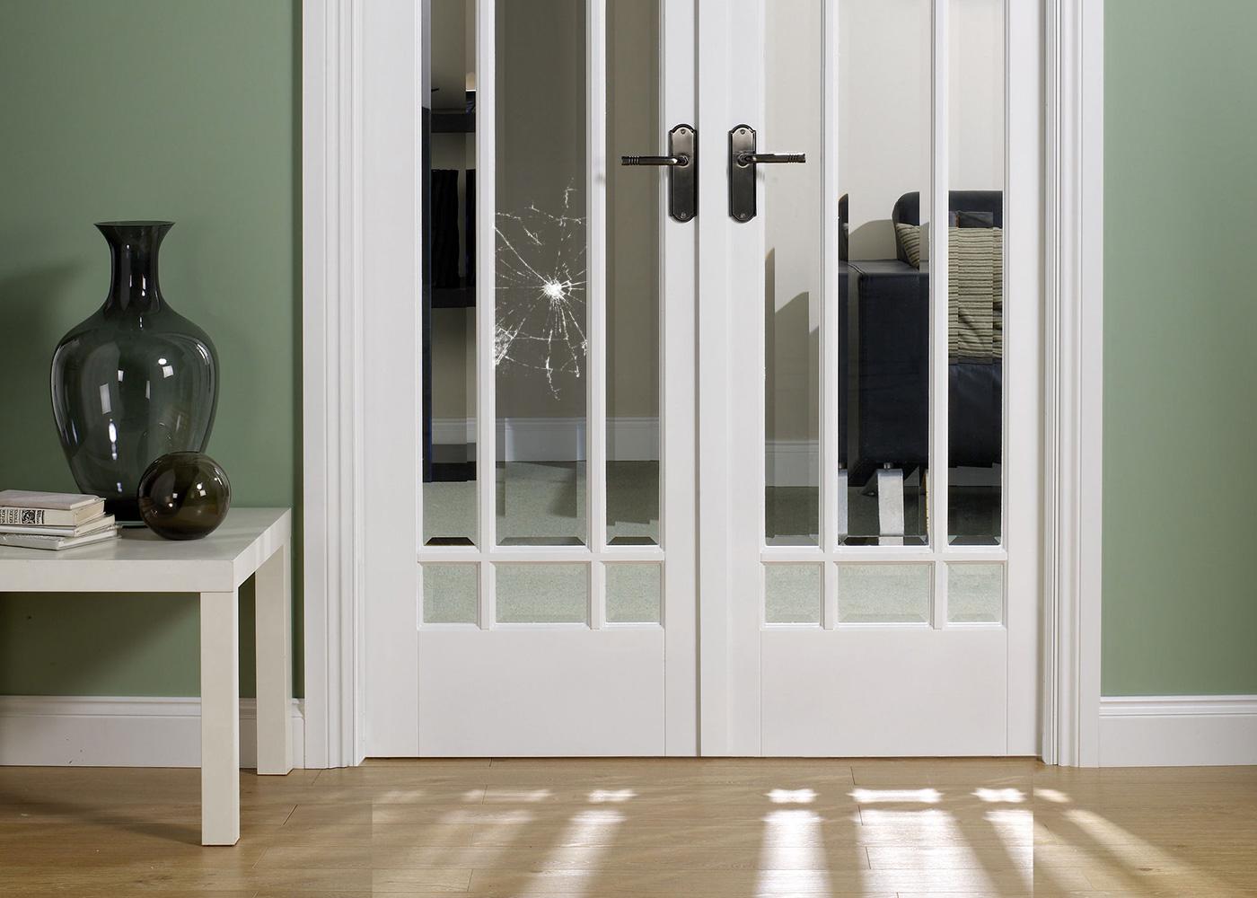 Выбираем стёкла для межкомнатных дверей