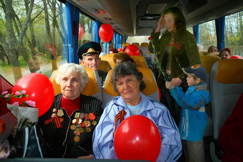 Где в Смоленске в День Победы будут ездить дополнительные автобусы