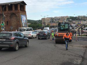 Начался масштабный ремонт дорог в Смоленске