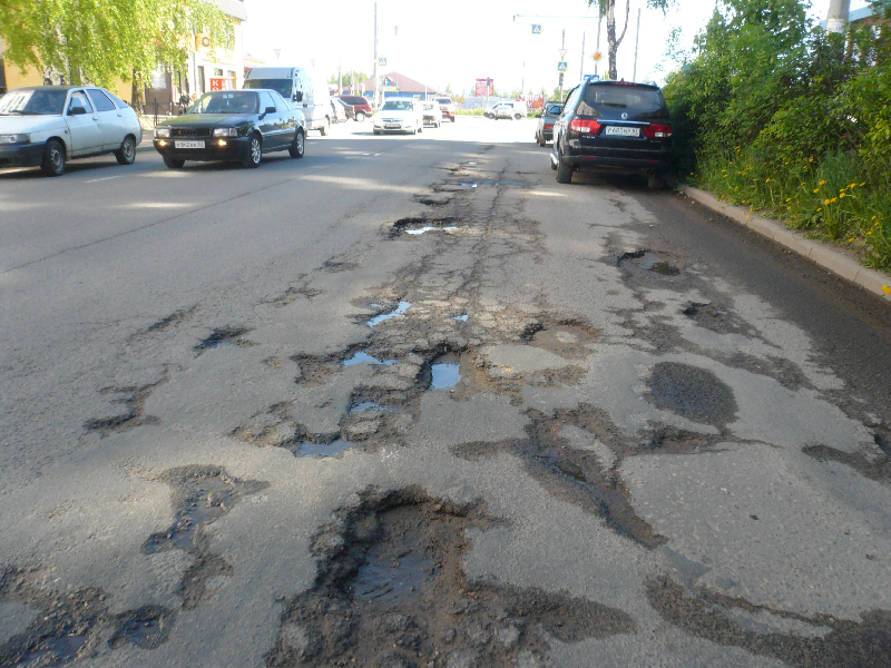Активисты ОНФ попросили смоленские власти привести дороги в норму