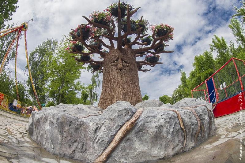В смоленском парке появился уникальный арт-объект