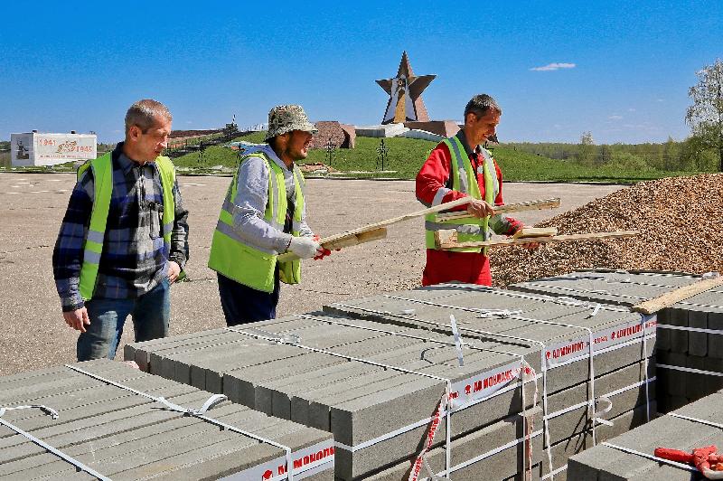 В смоленском городе атомщиков началась масштабная реконструкция мемориала