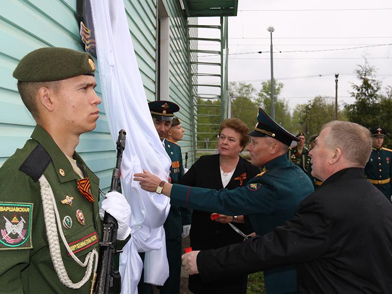В Смоленске открыли памятную доску воинам-железнодорожникам