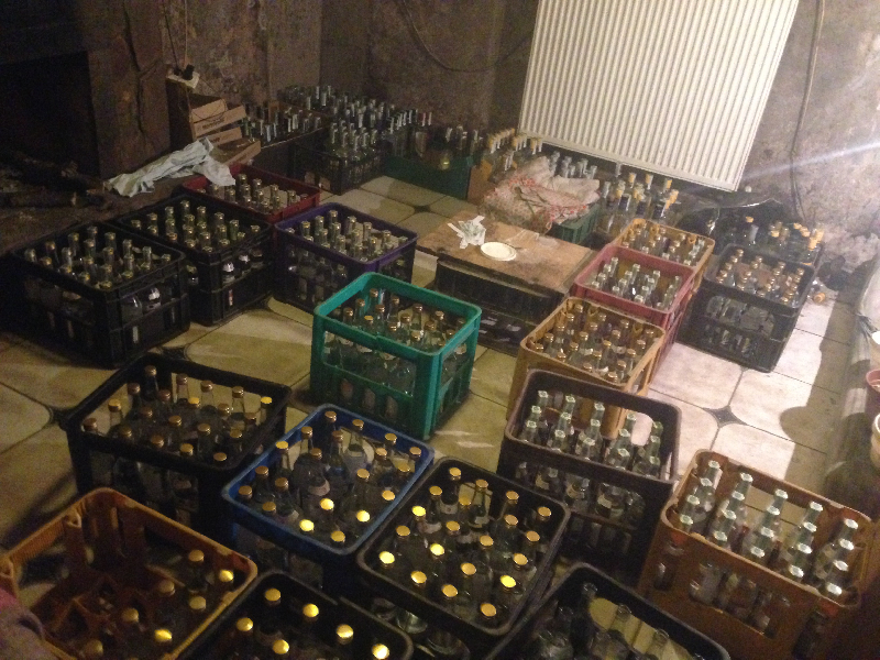 В Смоленске накрыли подпольный цех «левого» алкоголя