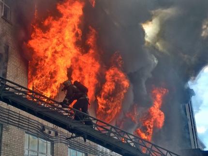Смоленские огнеборцы спасли более 80 человек