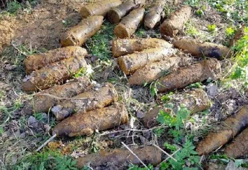 В Смоленском районе нашли арсенал снарядов