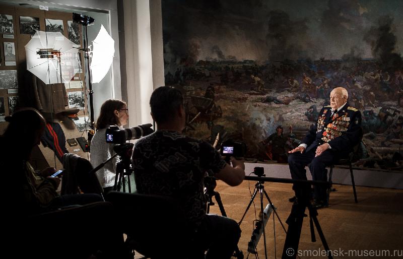 В Смоленске сняли фильм о ветеранах Великой Отечественной войны